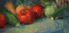 """Summer Produce"" by John Kelley OnTheEasel.com"