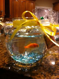 Favors at a Under the Sea Party #underthesea #partyfavors