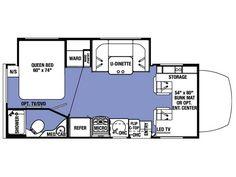 VW/Winnebago Rialta Floor Plans & Specifications QD is my fav ...