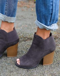 Carson Charcoal Bootie