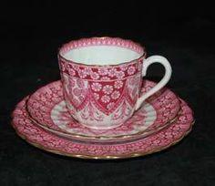 Pink China Pattern