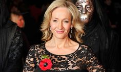 JK Rowling, Author of the Harry Potter series, inspiring young readers and improving literacy levels in the process