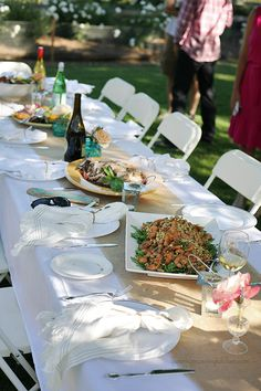 Backyard Summer Dinner Party 100 Giveaway To Layla Grayce