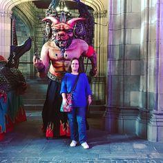 The beauty & the beast  #bestiesdefoc  #festesdelamercè2017  #beautiful_places #barcelonamagazine #visitbarcelona #thebarcelonist #bcnmoltmes #igerscatalunya #lugaresimperdibles #comomolabarcelona #wanderlust #connectBCN #unlimitedbarcelona #barceloona #thediscoverer #tradicionscatalanes