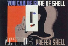 Shell Posters Edward McKnight Kauffer 1933