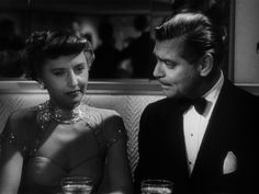 Clark Gable, To Please a Lady (1950) , Barbara Stanwyck