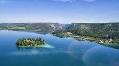 Visovac-See Kroatien