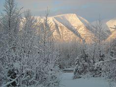 Wasilla in winter