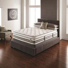 iSeries Approval Queen Super Pillow Top Mattress Set by Serta