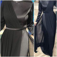 Abaya Fashion, Muslim Fashion, Women's Fashion Dresses, Stylish Dress Designs, Stylish Dresses, Hijab Evening Dress, Lace Gown Styles, Hijab Style Dress, Prom Dresses With Sleeves