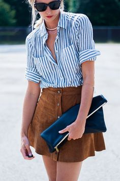 S in Fashion Avenue: THE A-LINE SKIRT