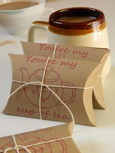 Valentines Spiced Chai. Set of 3. You're My Cup of Tea. by Apropos Roasters