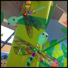 Dragonfly Craft - Dragonfly Plastic Spoon Craft