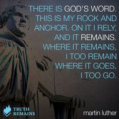 Martin Luther November 1483 – 18 February was a German monk, priest, professor of theology and iconic figure of the Protestant Reformation. Reformation Day, Protestant Reformation, Bible Verses Quotes, Faith Quotes, Pastor Quotes, Martin Luther Quotes, 5 Solas, Soli Deo Gloria, Reformed Theology