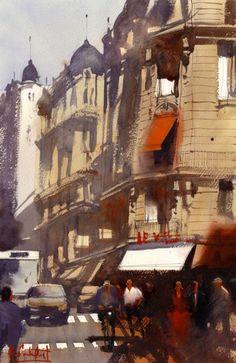 Alvaro Castagnet, Paris Midday Montmartre Giclée