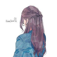 Cartoon Girl Images, Cute Cartoon Girl, Cool Anime Girl, Pretty Anime Girl, Cute Anime Pics, Anime Art Girl, Cartoon Art, Cute Animal Drawings Kawaii, Cute Drawings