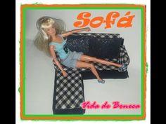 Como fazer sofá para nossas bonecas