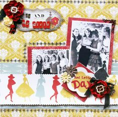 Layout by Prima Educator, Sharon Laakkonen using Welcome To Paris collection