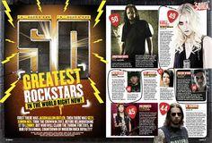 M. Shadows entre los 50 mejores rockstars actuales según Kerrang!