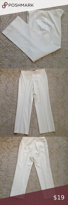 Fabrizio Gianni Stretch Dress Pants Excellent used condition Waist laying flat . Stretch Dress Pants, Legs Open, Stretches, Khaki Pants, Underwear, Pants For Women, Trousers, Flats, How To Wear
