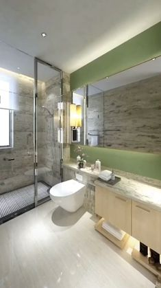 Washroom Design, Toilet Design, Bathroom Design Luxury, Bathroom Layout, Modern Bathroom Design, Interior Design Videos, Small House Interior Design, Modern White Bathroom, Small Bathroom