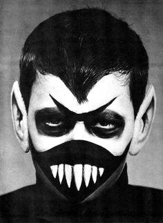 Dick Smith monster make-up, 1965 as seen on monsterbrains.blogspot.com