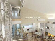 Дизайн-проект интерьера квартиры в стиле жилого минимализма. Архитектор Рихтер Ирина  INSIDE-STUDIO Prague Divider, Room, Furniture, Home Decor, Bedroom, Decoration Home, Room Decor, Rooms, Home Furnishings