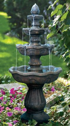 Virgin mother yard fountains