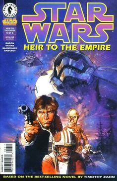 Looks like Captain Phasma on the cover. I just reread the Dark Empire comic series from the 90's and many scenes/images reminded me of The Force Awakens.