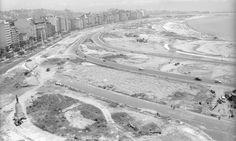 O último trecho do parque que recebeu obras de urbanização ficava próximo ao Morro da Viúva. Em janeiro de 1965, a área lembrava pouco o espaço verde atual Arquivo O Globo / Agência O Globo