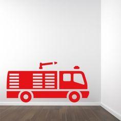 Muursticker brandweer