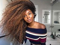 A Naturalista's Hairspiration [] there's no taming this hair