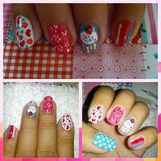 Cute nail polish Cute Nail Polish, Cute Nails, Make Up, Nail Art, Pretty Nails, Makeup, Nail Arts, Beauty Makeup, Nail Art Designs