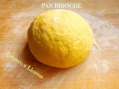 PAN BRIOCHE - ricetta base Challa Bread, Good Food, Yummy Food, Italy Food, Sicilian Recipes, How To Make Bread, Dessert Recipes, Desserts, Sweet Bread