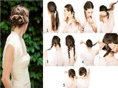 Learn How to Braid Your Hair Easy But With Style - Find Fun Art Projects to Do at Home and Arts and Crafts Ideas