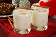 This creamy eggnog recipe is made lighter here and can be served with the rum or without. Sometimes it's a challenge making egg dishes or healthy egg foods with less calories and cholesterol without resorting to egg substitutes. Here we've used real egg but added skim milk to make an equally delicious and festive eggnog. Because what would the holidays be without this creamy drink.