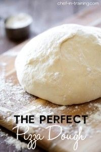 The Perfect Pizza Dough Recipe | Chef in Training