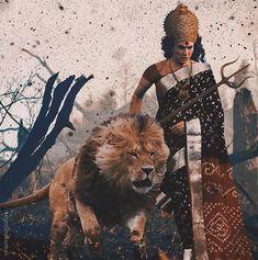 Navratri Pooja-- Awaken the Shakti within You! Durga Painting, Lord Shiva Painting, Maa Durga Photo, Durga Ji, Lord Durga, Hanuman Wallpaper, Maa Wallpaper, Durga Images, Lord Vishnu Wallpapers