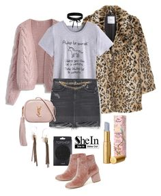 """""""Be a Unicorn"""" by thewovenwolf ❤ liked on Polyvore featuring MANGO, Chicwish, Topshop, Steve Madden, Yves Saint Laurent, Boohoo, Aesa, Too Faced Cosmetics and Maison Mayle"""