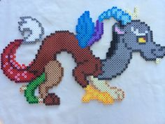 Discord - My Little Pony Friendship is Magic perler beads by PrettyPixelations