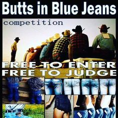It wouldn't be Cowboys & Cornbread without the Butts in Blue Jeans Contest! Cowboys & Cornbread THIS SUNDAY July 17th 11:00 am - 4:00 pm More info = link in bio #buttsinbluejeans #CowboysandCornbread #cowboys #localevents http://ift.tt/2admvMs