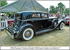 1934 Packard Sport Phaeton by sjb4photos, via Flickr