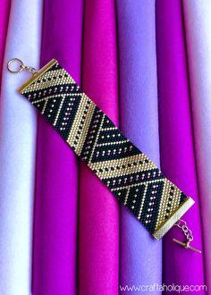 Peyote Stitch Cuff Bracelet - Beading for Beginners