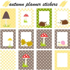 Today I made some free printable autumn planner stickers for you. Now you can…