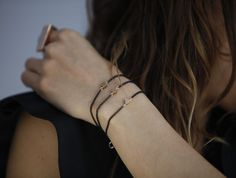 Geometrical Stud Bracelets  - Gabriela Artigas-