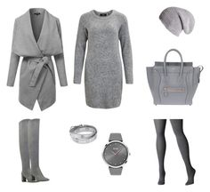 """""""Citi Casual"""" by kryli4ka on Polyvore featuring мода, Object Collectors Item, Nine West, Avenue, Black, Tory Burch, CÉLINE и BOSS Black"""
