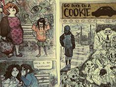 sketchbook page by Tamaytka