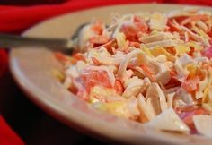 How to make Red Sea Salad Recipe.It is very easy to make and takes not more than 10 minutes.