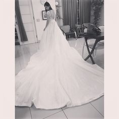 BallGown Wedding Dress with Sexy Backless