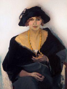 Kees van Dongen, Portrait of a Woman 1903 (fauvism) Woman Painting, Figure Painting, Painting & Drawing, Art Fauvisme, L'art Du Portrait, Raoul Dufy, Ouvrages D'art, Guache, Dutch Painters